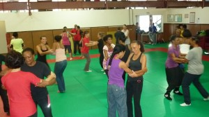 Stage Amazon Training à la Martinique - Les pratiquantes
