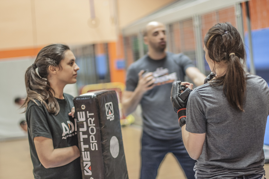 Cours de self-defense à Paris : Amazon Training